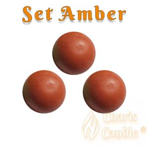 Charis Candle ® - Set Amber