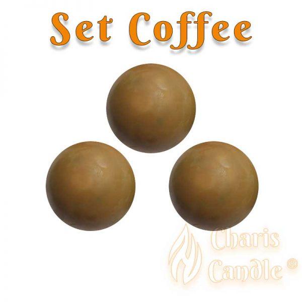 Charis Candle ® - Set Coffee