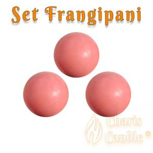 Charis Candle ® - Set Frangipani