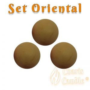 Charis Candle ® - Set Oriental
