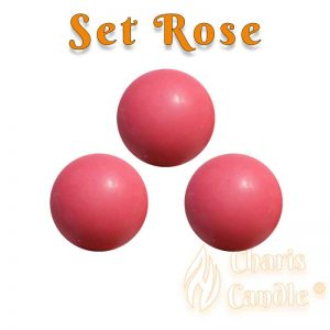 Charis Candle ® - Set Rose