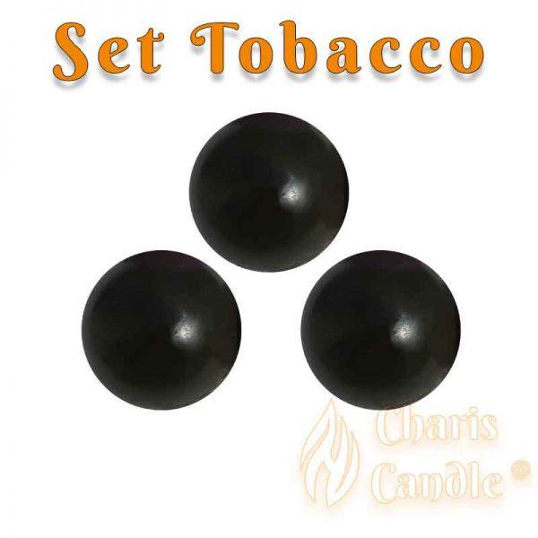 Charis Candle ® - Set Tobacco