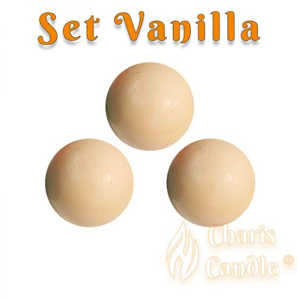 Charis Candle ® - Set Vanilla