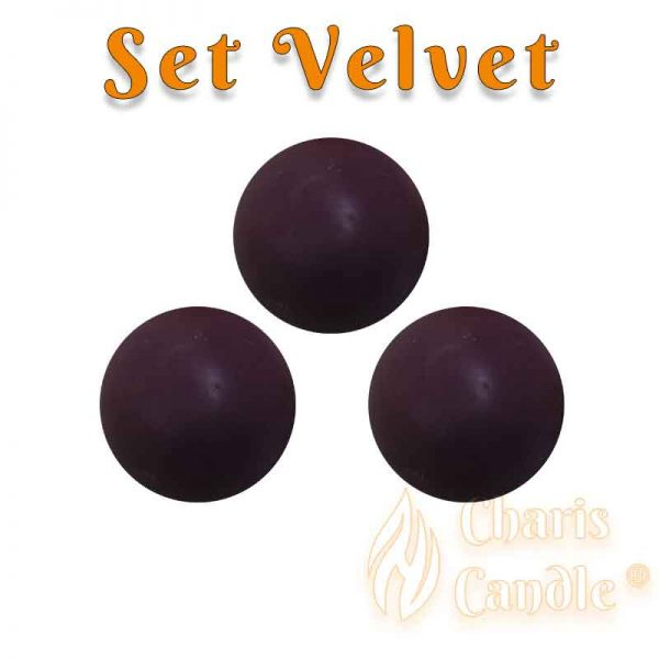 Charis Candle ® - Set Velvet
