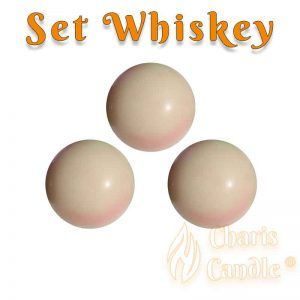 Charis Candle ® - Set Whiskey