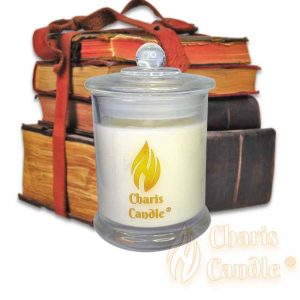Charis Candle ® - Lumânare Alexandra Library