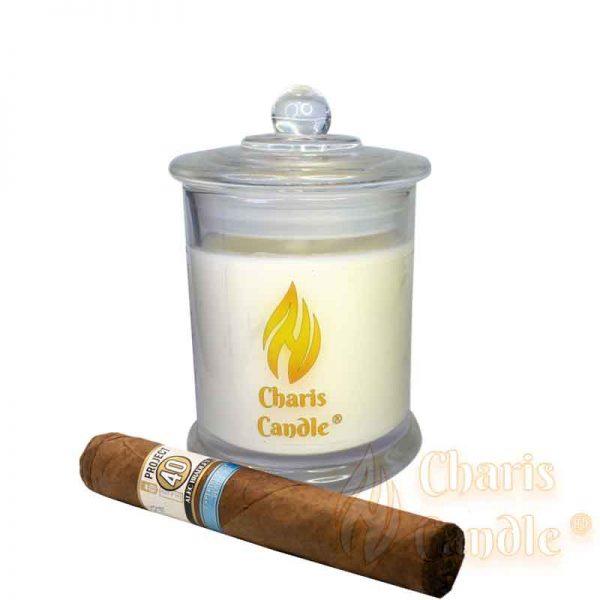 Charis Candle ® - Lumânare Alexandra Tobacco