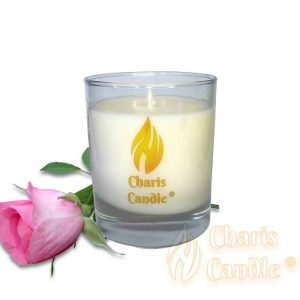 Charis Candle ® - Lumânare Cassiopea Rose