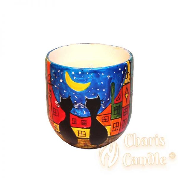 Charis Candle ® - Lumânare Inspire Black cats