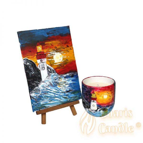 Charis Candle ® - Cadouri - Cadou Inspire Lighthouse