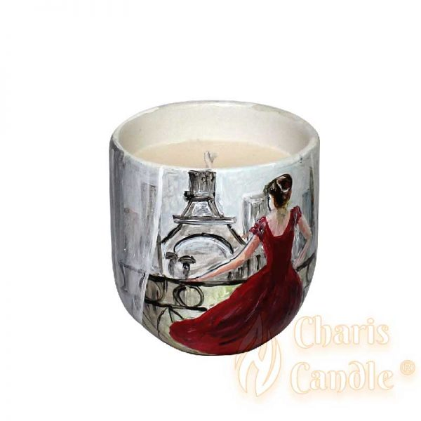 Charis Candle ® - Lumânare Inspire Lady In Red