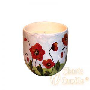 Charis Candle ® - Lumânare Inspire Maci