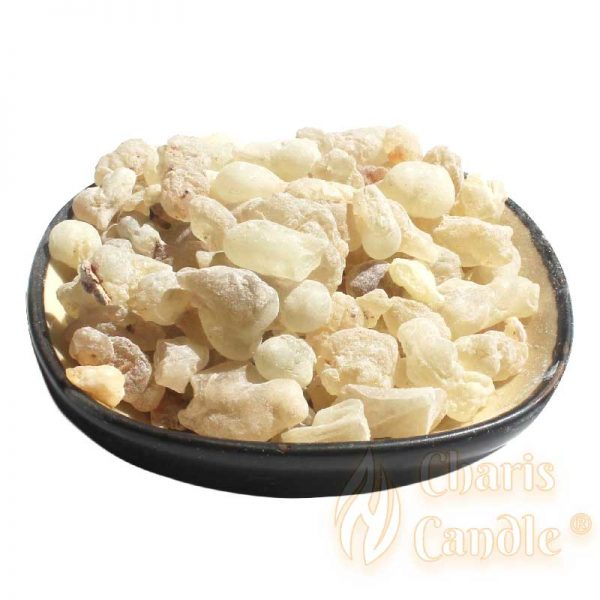 Charis Candle ® - Aromaterapie - Răşini naturale - Rășină de Tămâie Naturală Green