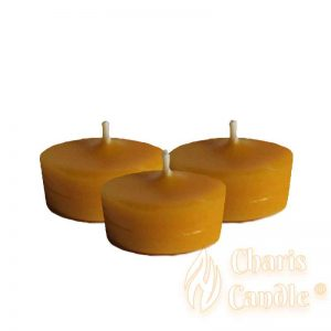 Charis Candle ® - Refill Tealight - Beeswax