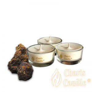 Charis Candle ® - Lumânări pastilă Tealight Amber