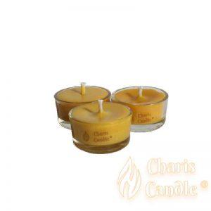 Charis Candle ® - Lumânări pastilă Tealight Beeswax