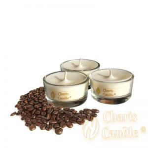 Charis Candle ® - Lumânări pastilă Tealight Coffee