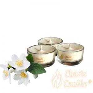 Charis Candle ® - Lumânări pastilă Tealight Jasmine