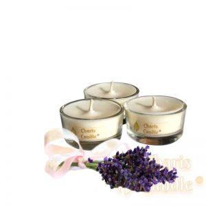 Charis Candle ® - Lumânări pastilă Tealight Lavender