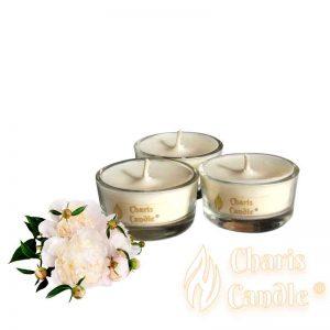 Charis Candle ® - Lumânări pastilă Tealight Peony