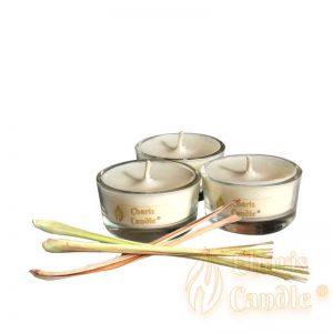Charis Candle ® - Lumânări pastilă Tealight Spice