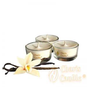 Charis Candle ® - Lumânări pastilă Tealight Vanilla