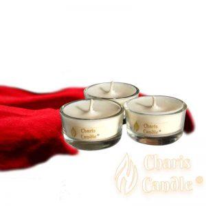 Charis Candle ® - Lumânări pastilă Tealight Velvet