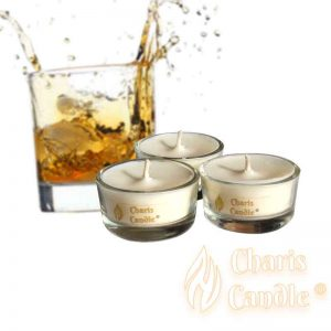 Charis Candle ® - Lumânări pastilă Tealight Whiskey