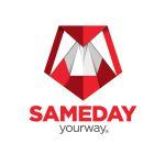 Charis Candle ® - Logo SamedayCourrier - Condiţii de livrare